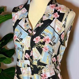 Vintage Tourist Dress
